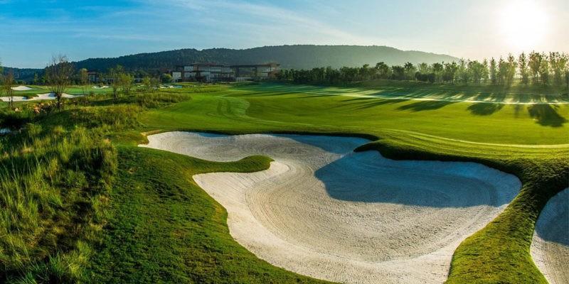 bunker au golf