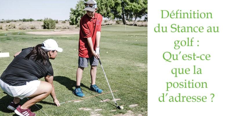 definition stance golf